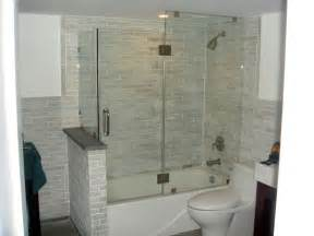 bathroom glass shower ideas tub enclosures glass