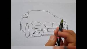 How To Draw Bmw M2 Pencil Drawing  U2606 Wissam Tuning  U2606