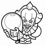 Coloring Halloween Clown Coloriage Printable Sheets Disney Children Dessin Easy Grade Scary Preschool Worksheets Printables Coloriages Math Movie Effrayant Enfants sketch template