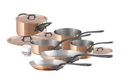 mauviel copper cookware sets cuprinox mheritage pour la table