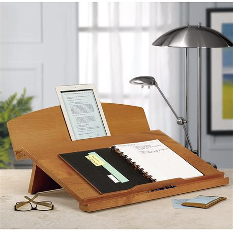 levenger wooden desk i use mine every day editor s desk portable desk