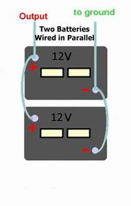 Wiring A 12v Auxiliary Battery In Enclosed Trailer To 7