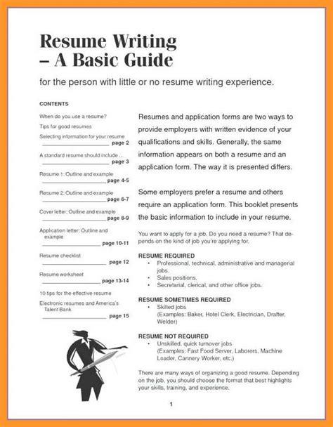 Contents Of Resume by 12 13 Resume Cover Letter Contents Loginnelkriver