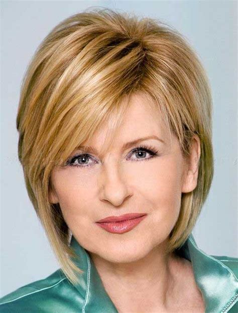 20+ Short Haircuts For Over 50 Short Hairstyles 2018