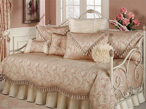 imperial ruffled flounce daybed bedding set photo with