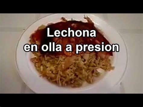 LECHONA TOLIMENSE CASERA EN OLLA A PRESION RECETAS