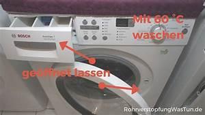Geruch In Der Waschmaschine : 19 tipps gegen muffig riechende w sche nach dem waschen rohrverstopfung ~ Watch28wear.com Haus und Dekorationen