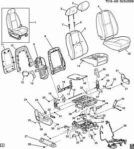 2007 Chevy Tahoe Seat Parts