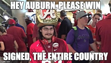 Iron Bowl Memes - these priceless iron bowl memes are yet another reason why this rivalry is the best