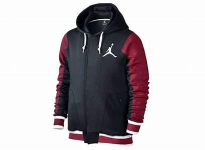 Rojo Varsity Hoody Jordan Blanco Negro