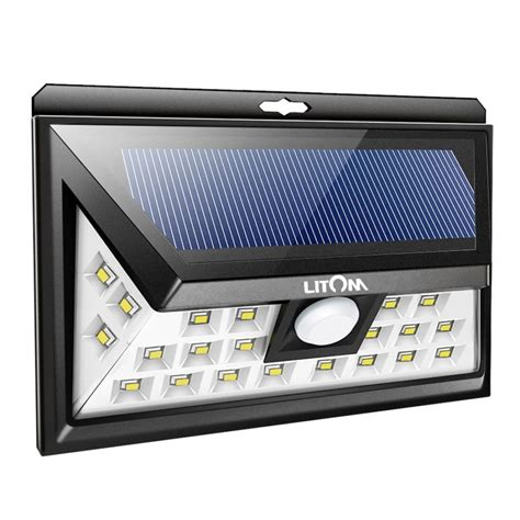 best solar powered security and motion lights ledwatcher