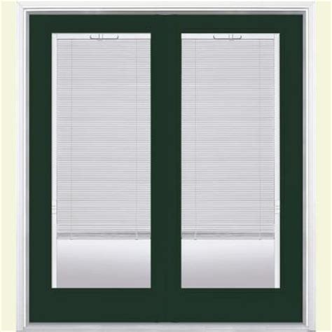 Masonite Patio Doors With Mini Blinds by Masonite 72 In X 80 In Conifer Prehung Right