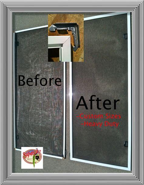 screen doors window screen repair mobile screen service