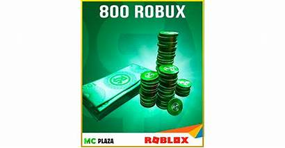 Robux 800 Roblox Card