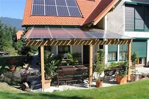 Terrassenuberdachung mit photovoltaik anlage for Terrassenüberdachung mit photovoltaik