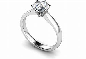 round stone diamond engagement rings wedding dress from je With marble wedding ring