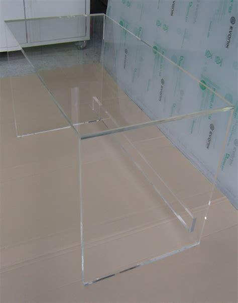 bureau en plexiglas bureau console plexiglass