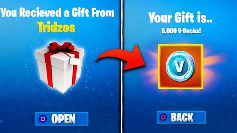 gifting feature leaked  fortnite fortnite