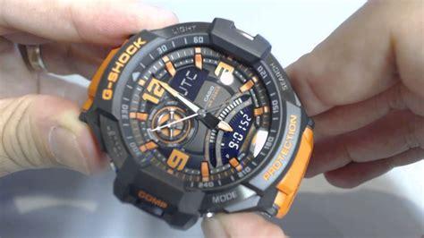 Casio G-shock G-aviation Compass Aviator Watch Ga1000-4a