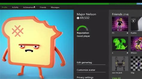 S New Profile Page Will Let You Watch Xbox One