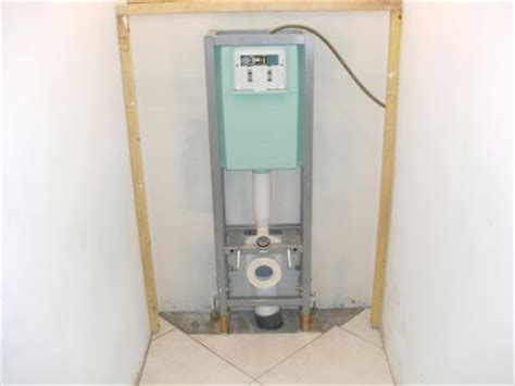 installation wc suspendu constuire sa maison