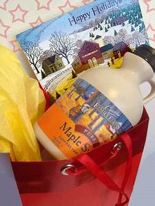 Maple Holiday Treat and Gift Basket Ideas Coombs Family