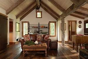 Minneapolis, Vaulted, Ceiling, Trim, Ideas, Living, Room, Rustic, With, Window, Treatment, Professionals