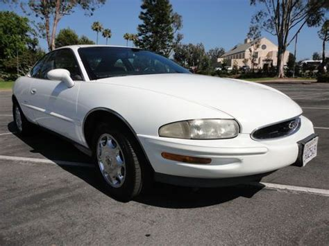 manual cars for sale 1995 buick riviera electronic throttle control buy used 1995 buick riviera 2dr coupe leather chrome wheels ca car no rust no reserve in