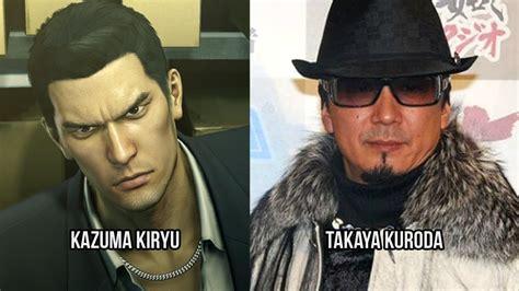 characters  voice actors yakuza  youtube
