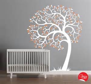 baby nursery wall decor nursery tree wall decal modern