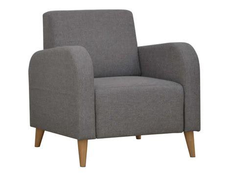 canape en bois et tissu fauteuil en tissu biss coloris gris vente de tous les
