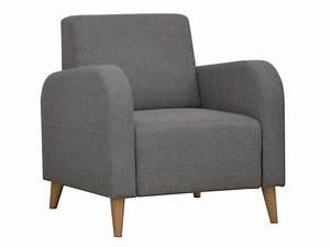 Fauteuil Gris Conforama : fauteuil en tissu biss coloris gris vente de tous les fauteuils conforama ~ Teatrodelosmanantiales.com Idées de Décoration