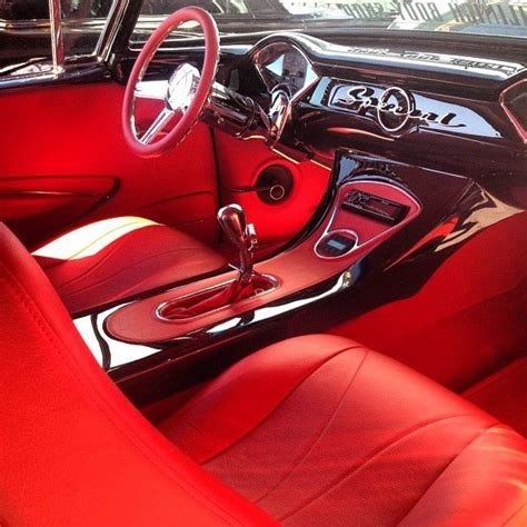 Car And Truck Upholstery by 55 56 Chevy Dash In A Buick Parts Custom Car Interior
