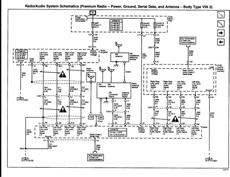 wiring diagram   bose system   envoy