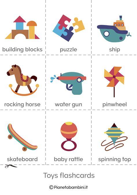 giocattoli  inglese esercizi  la scuola primaria