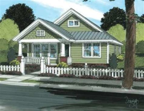 Craftsman Style House Plan 3 Beds 2 Baths 1260 Sq/Ft