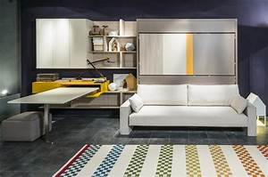 functional interior designs with modern murphy sofa beds With modern murphy bed decoration for an apartment