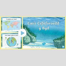 Pŵerbwynt Cwis Cefnforoedd Y Byd  Sea, Ocean, Cefnfor, Mor, Byd