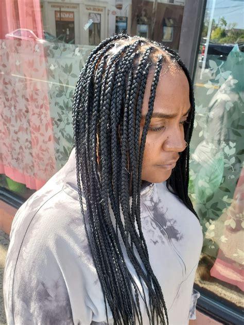 box braids knotless kd african hair braiding