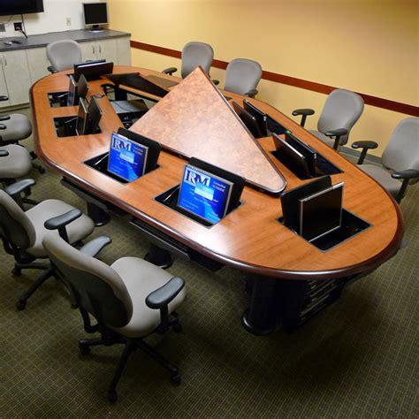 computer training room desks technology desks computer conference table laptop