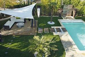 le jardin ideal idees pour la maison pinterest With amenager un jardin rectangulaire 2 terrasse de jardin moderne planification et conception