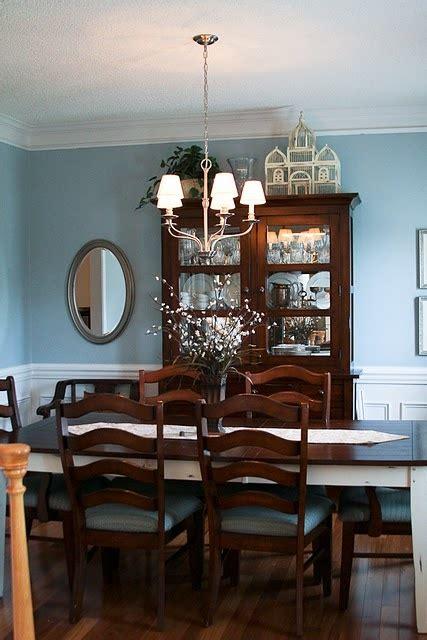 blue dining room valspar seaside villa paint cute decor