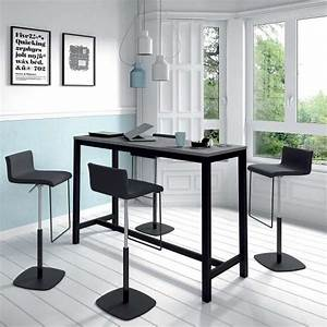 Pied De Table Haute : table haute de cuisine hauteur 110 cm en stratifi et ~ Dailycaller-alerts.com Idées de Décoration