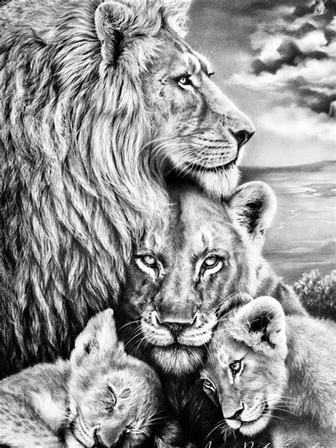 Pin by Tan2914 on Adult Coloring Pages | Lion tattoo sleeves, Lion family, Lion tattoo