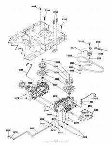Simplicity 2691322-00  44 U0026quot  Mower Deck Parts Diagram For