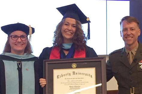 graduate receives diploma  surprise ceremony
