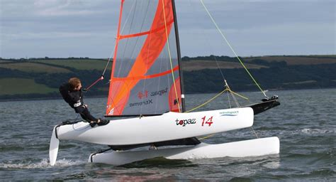 Dinghy Catamaran Sailboats For Sale by Topaz Catamarans For Sale From East Coast Sailboats