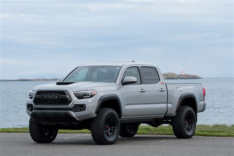 2018 Toyota Tacoma Trd Lifted Custom In Cement Grey