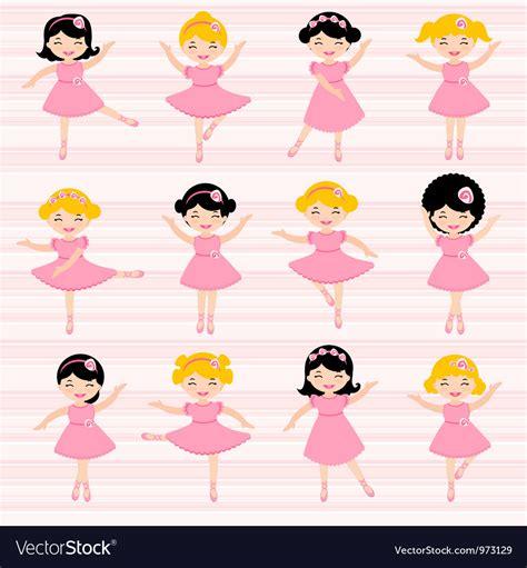 Cartoon ballerina vector by lordalea Image #745769