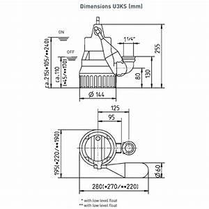 U3k Special Submersible Sump Pump